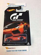 Gran Turismo Hot Wheels * Lamborghini Aventador LP 70-4 * ORANGE
