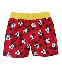 Michey Mouse Baby Boys Swim Trunks UPF 50+ UV Protection By Disney Baby NWT !