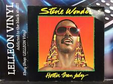 Stevie Wonder Hotter Than July LP Album Vinyl Record STMA8035 A4/B4 Motown Soul