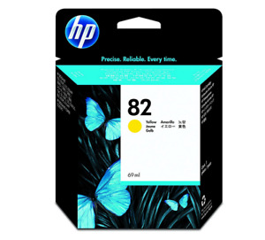 HP 82 (Yield: 1,430 Pages) Yellow Ink Cartridge