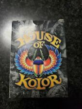 House Of Kolor PLAYING CARDS Quality Kustom Finishes Picayne MS Unsealed Unused