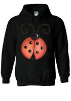 Cute Ladybird Bug-Lady Beetle Hoodie Sweatshirt Jumper Men Women Unisex 1856