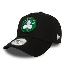 025fb0d4b42 NEW ERA MENS BOSTON CELTICS BASEBALL CAP.9 FORTY NBA A FRAME BLACK HAT 8W2