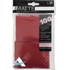 kaartspellen 100 Buste Ultra PRO Matte ECLIPSE • ROSSO • Standard • Bustine • Magic Pokémon