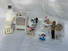 Dolls house Bundle Nursery Lot dolls & Furniture Mixed lot