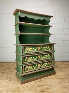 A Painted Miniature Dresser