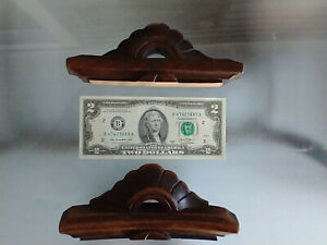 Lot Of 2 Small Antique Victorian Carved Curved Walnut Pediment 1860