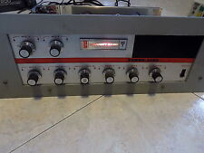 University sound microphones amplifier 60T solid state PA in working condition