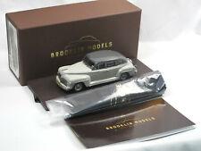 Brooklin Models BML 29x 1942 DeSoto Deluxe 4-Door Sedan 2-Tone Gray 1:43