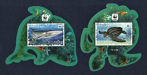 Thailand Stamp 2019 Preserved Wild Animals (4 Preserved Marine Animals ) SS