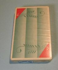 1939 Russell Gladstone Green Wheat Stalks SEALED Playing Cards Deck New York