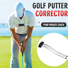 Golf Putting Swing Corrector and Arc Trainer