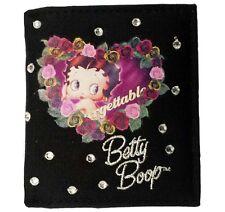 * liquidación * Betty Boop Bi-Fold Negro Cartera Damas Para mujeres niñas