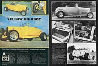 1981 Great 2 Page Pic Article of Dave Buetes '29 & '32 Model A Highboy Roadster