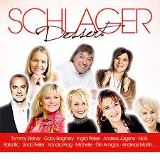 CD Schlager Dessert da varie Interpreti 2CDs