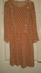 Ladies Paul &Joe Sister Butterfly Dress*Sz 40/Small