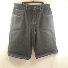 Evisu Men's W/38 Dark Jean Shorts