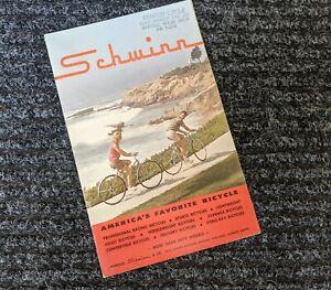 SCHWINN 1965 Bicycle Sales Catalog/Brochure*Stingray-Paramount-Cycle Truck