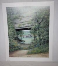 Natures Shelter Ky Artist Fred Thrasher Natural Bridge Rowena Cumberland River
