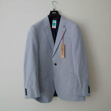 Marks and Spencer COLLEZIONE Mens Navy/white Striped Blazer