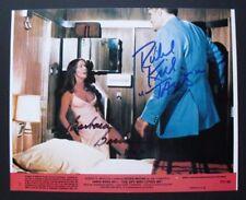JAMES BOND 007 photo signed by BARBARA BACH & RICHARD KIEL, with COA, 8x10