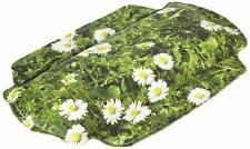 Kleine Wolke Nackenpolster DAISY 32 x 22 cm. Blumen Motiv Neck Support Flower