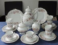 RAR antikes Jugendstil Kaffeeservice für 8 Pers. m. 2 Kuchenplatten handbemalt?