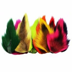 Wapsi Fly Tying Medium Bucktails Soft Mobile Bucktail Hair