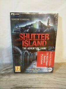 SHUTTER ISLAND - The Adventure Game Pc Cd Rom Hidden Object - NEW + SEALED UK PP