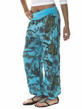 Polyester Harem Loose Fit Trousers for Women