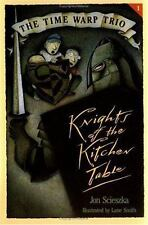 The Knights of the Kitchen Table (Time Warp Trio)-ExLibrary