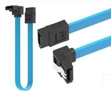 Cable de données SATA 50 cm Data cable SATA I,II,III SERIAL ATA 1,2,3 compatible