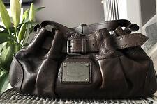 Beautiful Genuine Burberry Brown leather Shoulder Bag, handbag