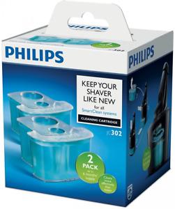 Philips JC302/50 Reinigungskartusche SmartClean System 5000 9000 Serie 2er-Pack