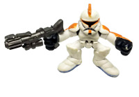 Hasbro Star Wars Galactic Heroes 2004 - Orange Clone Trooper Only, No Obi-Wan