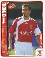 169 GARY O'NEIL ENGLAND MIDDLESBROUGH.FC STICKER FL CHAMPIONSHIP 2010 PANINI