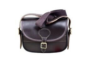 New Real Leather Cartridge Bag With Beautiful Design Attached Brass Buckles (39)