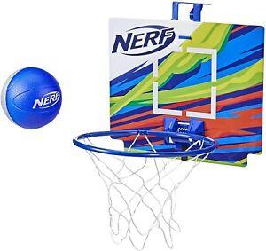 NERF NerfoopThe Classic Mini Foam Basketball & HoopIndoor & Outdoor Play