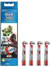 Kids Brush Head Electric Soft Bristle Oral-B Star Wars Toothbrush Replacement X4