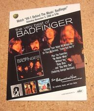 Badfinger 2000 Promo Counter Display Standup The Very Best of
