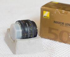 Nikon 2137 AF Nikkor 50 mm F/1.8 D FX FULL FRAME Focale Fissa Per Nikon DSLR