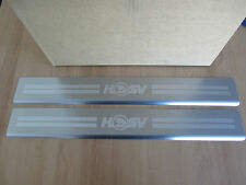 HSV VE VF Front Door Sill Scuff Plates Maloo Clubsport GTS Ute Sedan Wagon NEW