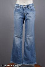 Lucky Brand woman's jeans size 8/29 blue denim 'Sweet n Low' distressed casual