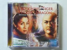 Crouching Tiger Hidden Dragon Original Motion Picture Soundtrack Music CD 2000