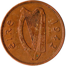 1942 ONE PENNY EIRE / IRELAND      #WT788