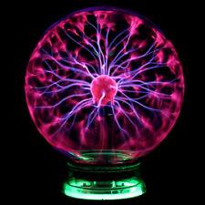 PLASMAKUGEL 4/ 5/ 6 Zoll Retro Plasmaball Deko Lichteffekt Plasma Lampe Leuchte