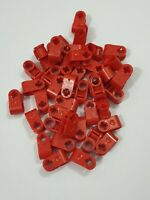 Lego red technic, axle and pin connector perpendicular(6536),10 parts