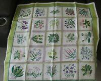 Sverige-Blomster Sweden Vintage Flower M.M. Dahlin Tablecloth