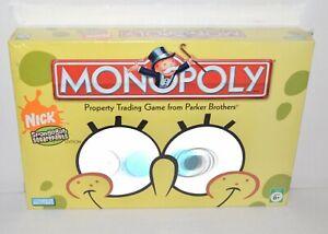 Monopoly Nick SpongeBob SquarePants Edition 2005 Collectors Pewter Tokens Sealed