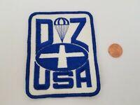 Patch Sky Diver Pocket Vintage Free Fall Parachute Insignia